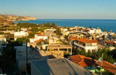 The Myrtos village